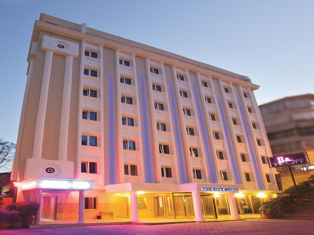 The city hotel r servation gratuite sur viamichelin for Aksaray hotels