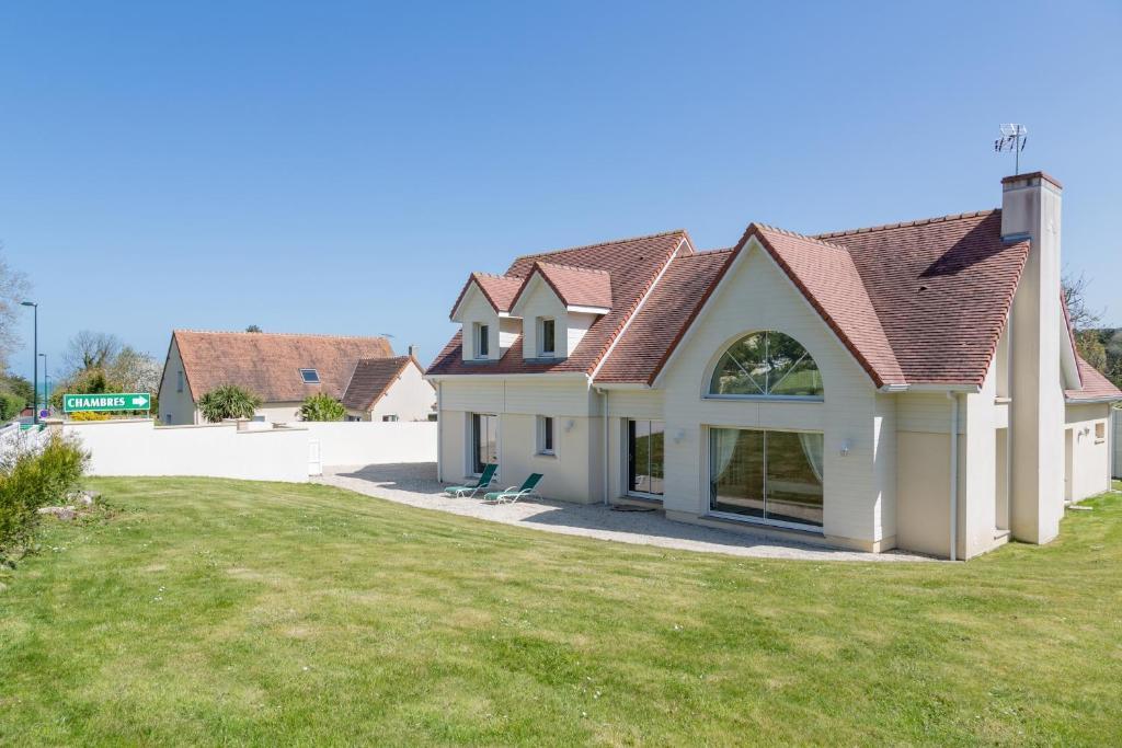 Villa tracy sur mer r servation gratuite sur viamichelin for Location maison yverdon les bains