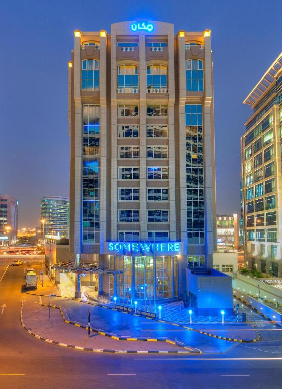Somewhere Hotel Apartment Dubai Uae Booking Com