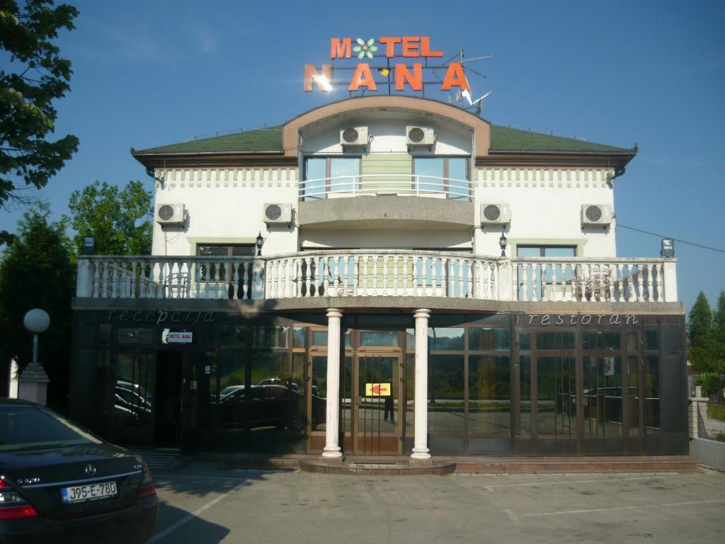 Motel nana r servation gratuite sur viamichelin for Reservation motel