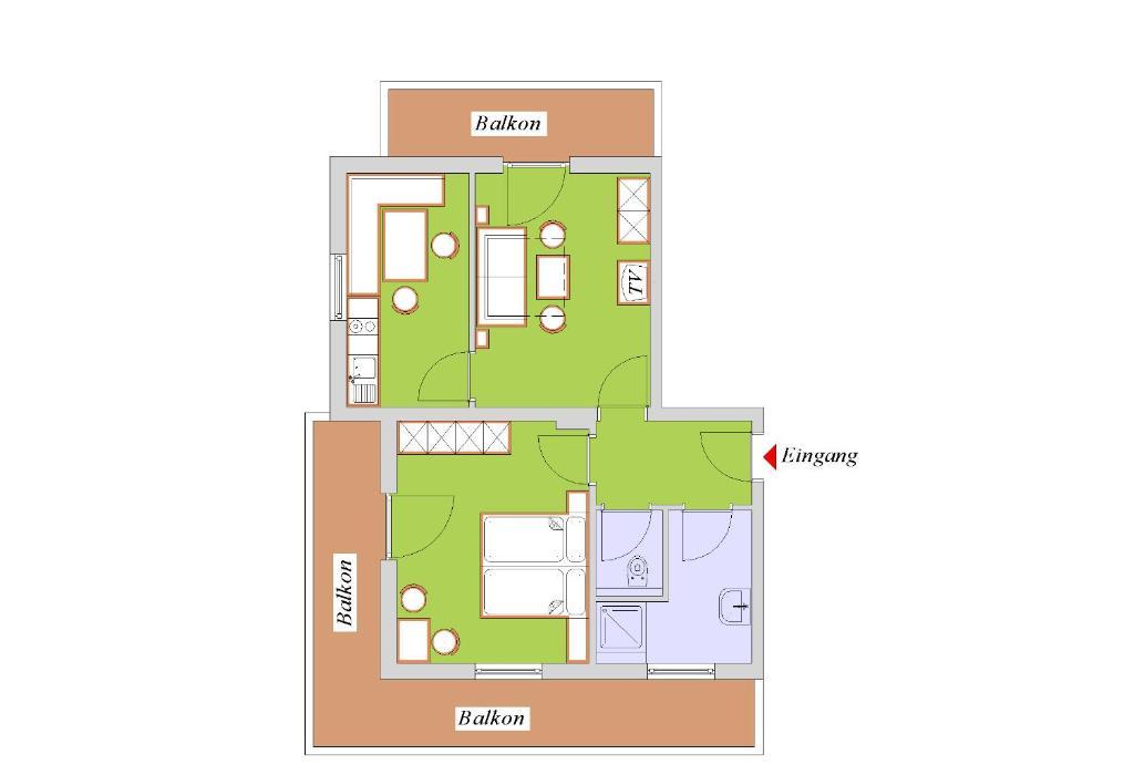Appartements kroner nauders prenotazione on line for Nauders appartamenti