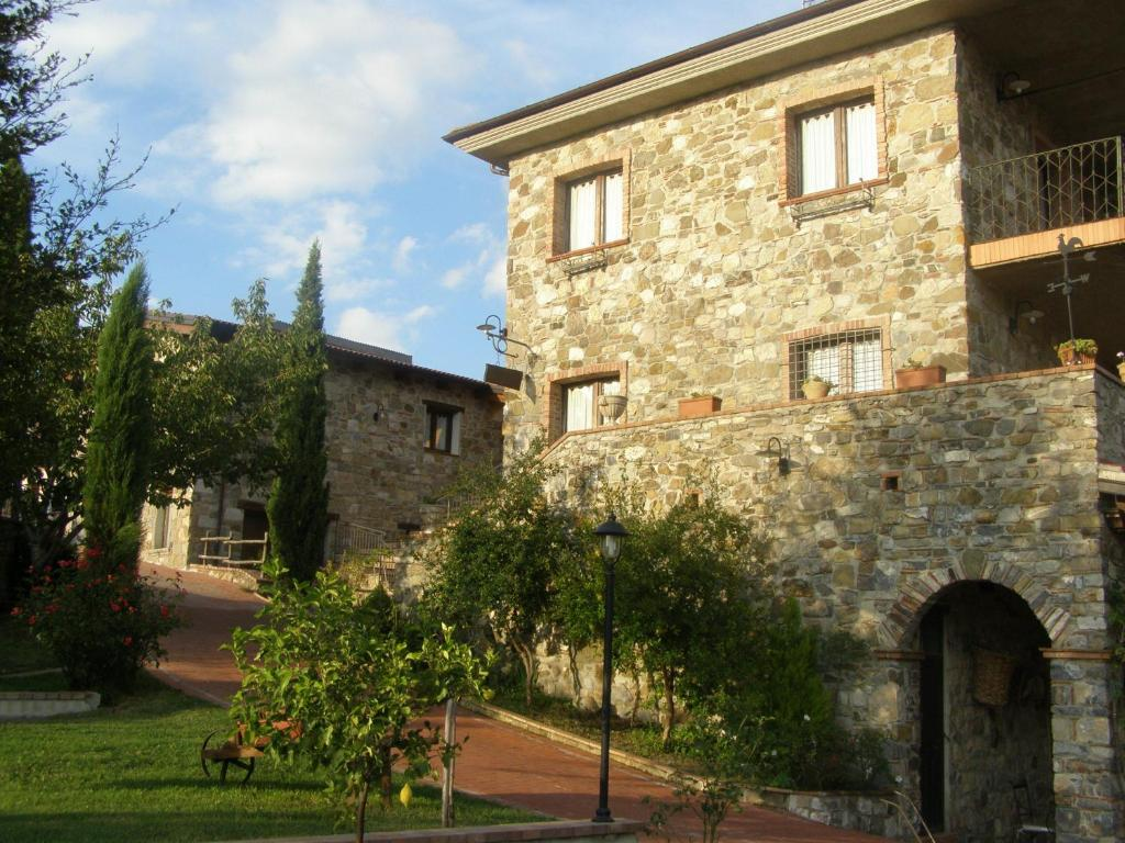 Turismo rurale le grazie castel san lorenzo for Piani di casa ranch unici