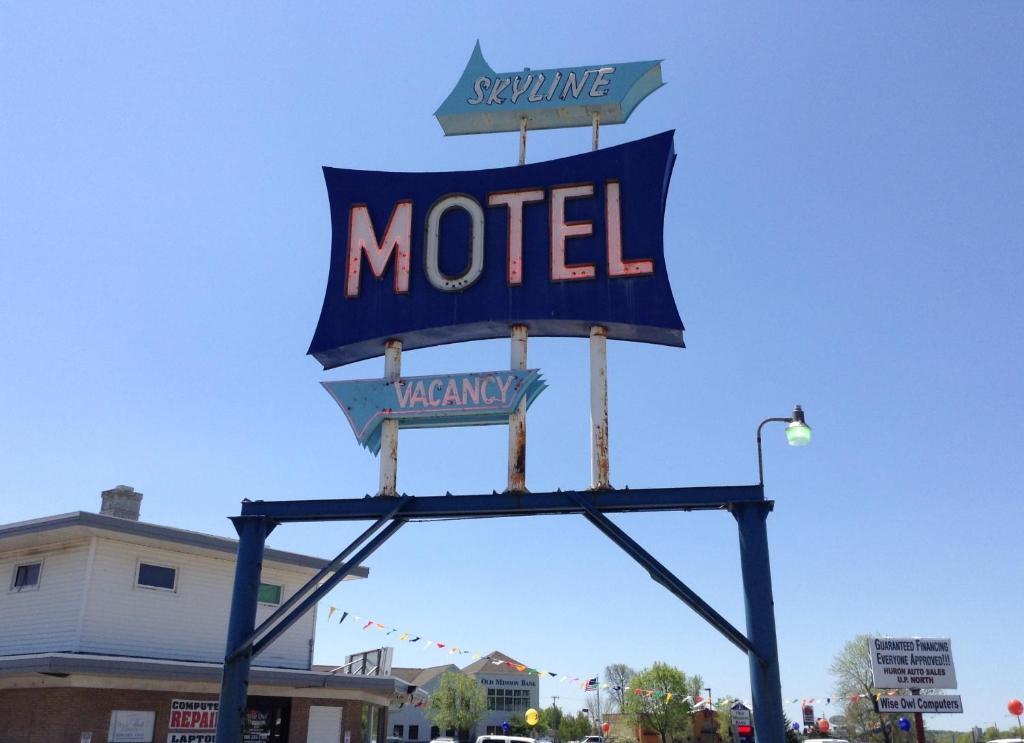 Skyline motel r servation gratuite sur viamichelin for Reservation motel