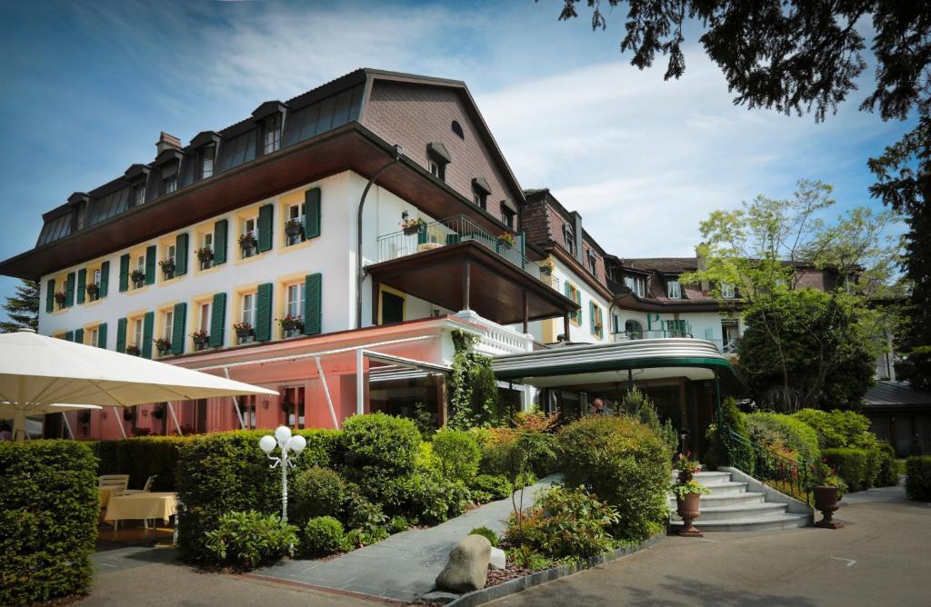 Hotel la prairie r servation gratuite sur viamichelin for Piscine yverdon