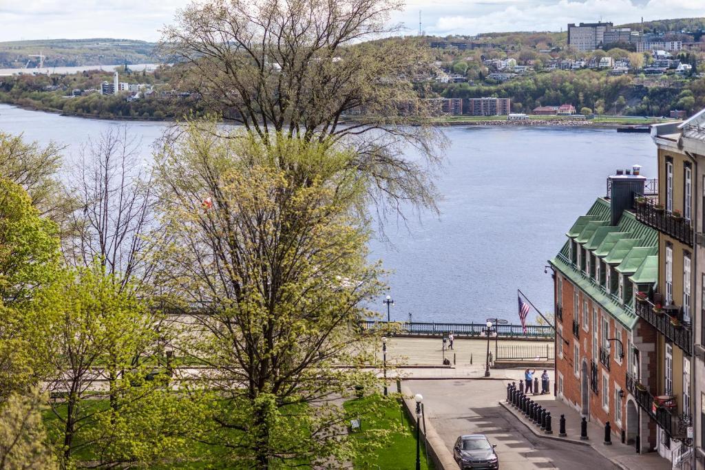Hotel chateau bellevue qu bec prenotazione on line for Viamichelin quebec
