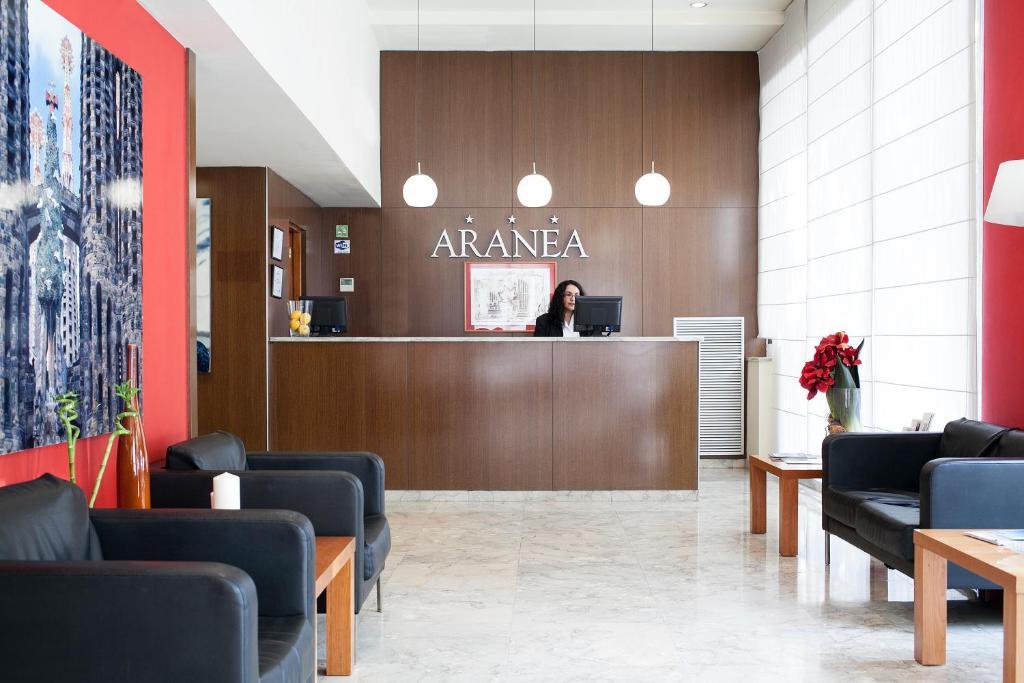 Hotel aranea barcellona prenotazione on line viamichelin for Barcellona albergo economico