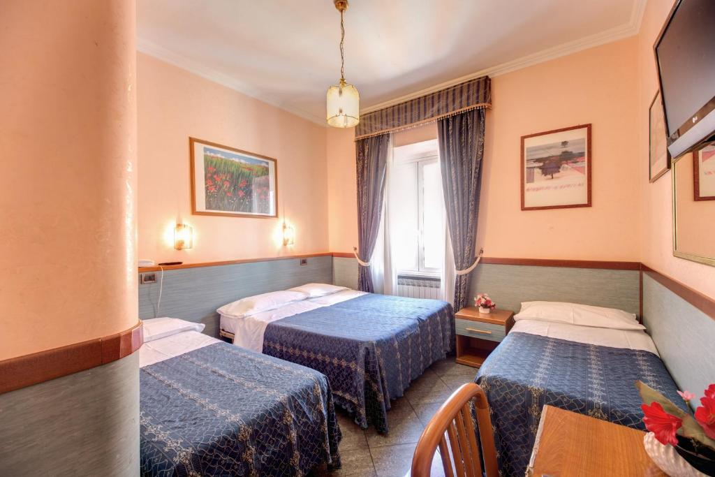 Hotel Soggiorno Blu - Rome - book your hotel with ViaMichelin