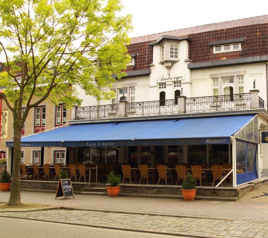 Hotel restaurant brasserie kanne kruike maastricht for Hotel michelin