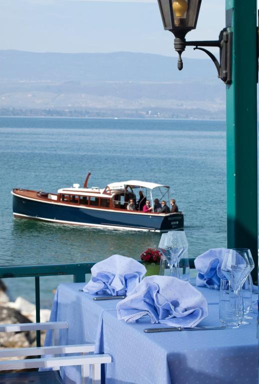 hotel restaurant du port yvoire