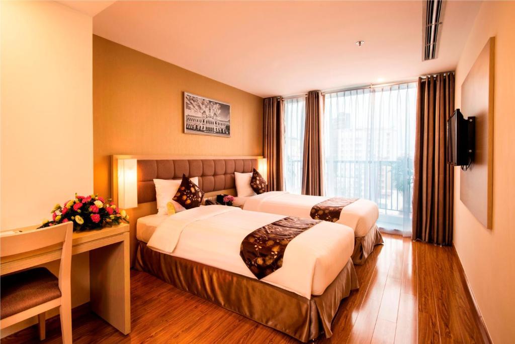 Phòng Premier Deluxe có 2 Giường đơn