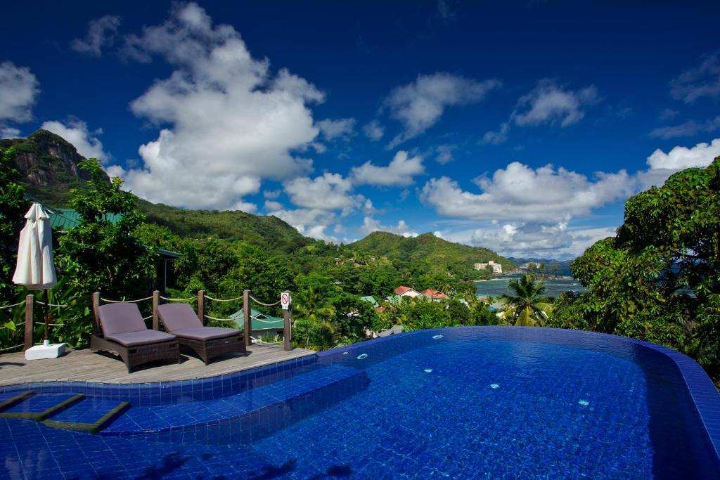 Villas de jardin locations de vacances port glaud for Villas de jardin seychelles