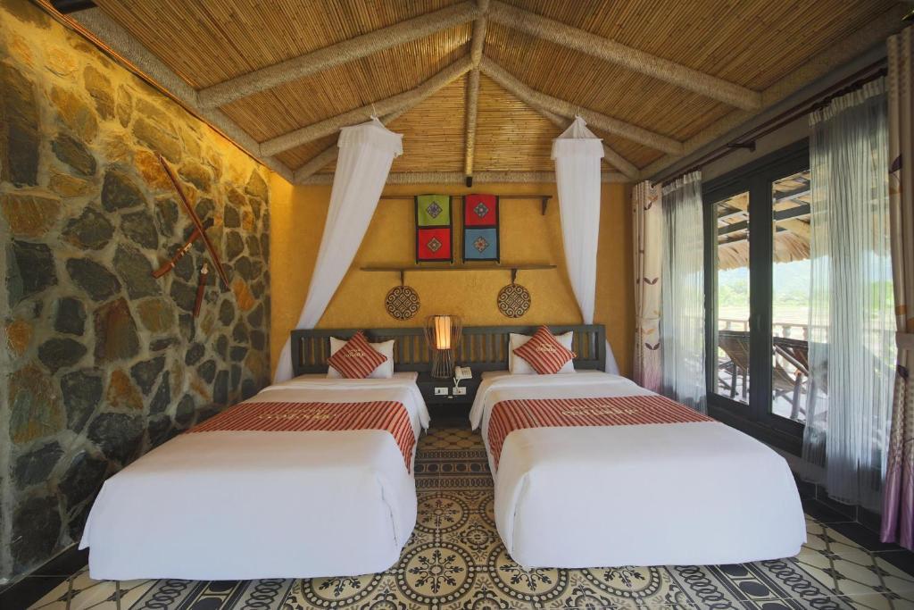 Phòng Deluxe có 2 Giường đơn Nhìn ra Thung lũng