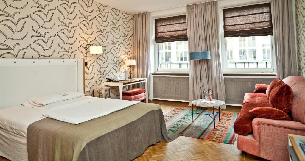 cortiina hotel m nchen informationen und buchungen online viamichelin. Black Bedroom Furniture Sets. Home Design Ideas