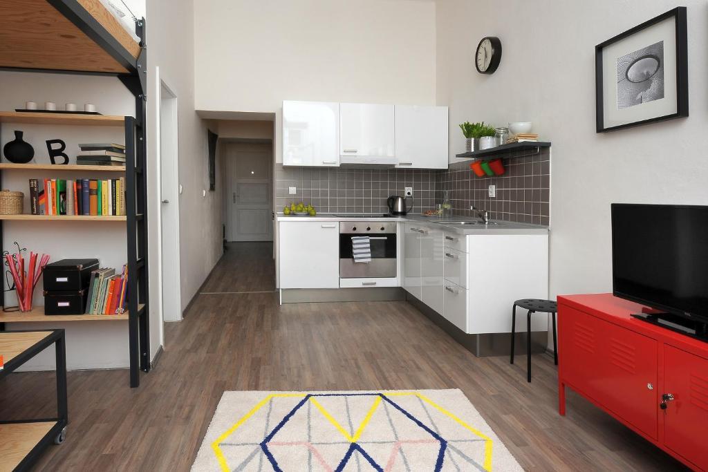 Cosy design apartment brno prenotazione on line for Design apartment udolni brno