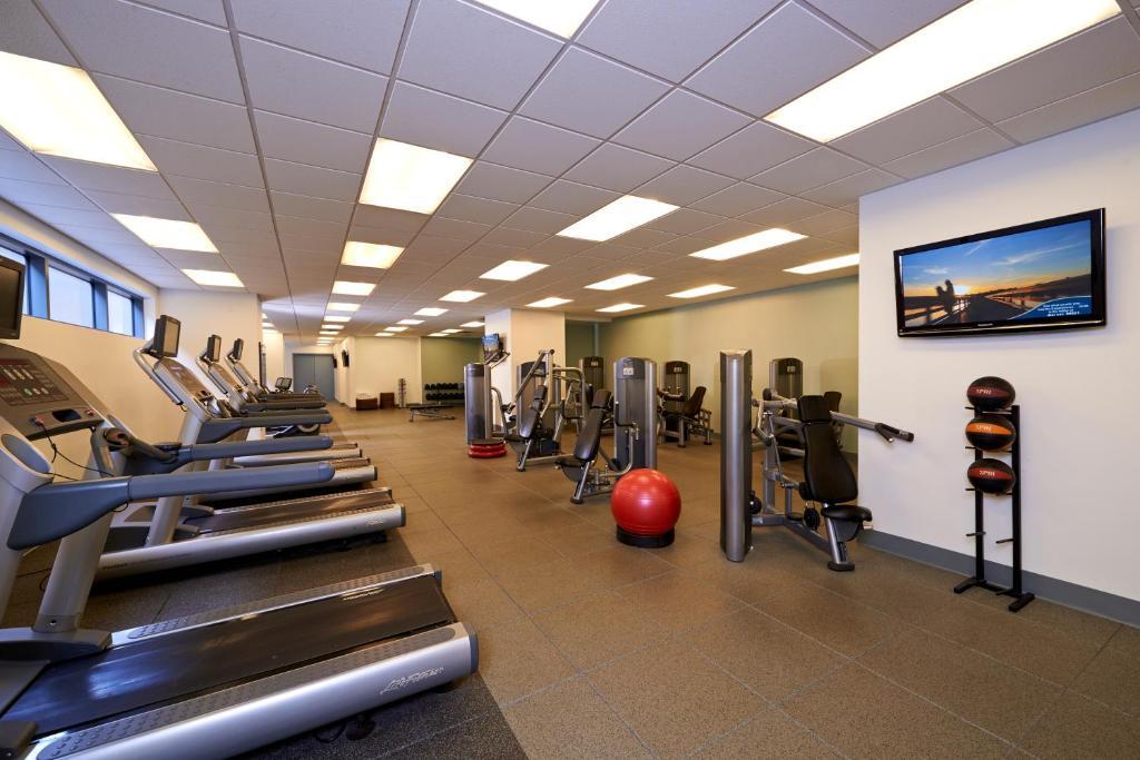 Gimnasio o equipamiento deportivo en Elara by Hilton Grand Vacations - Center Strip