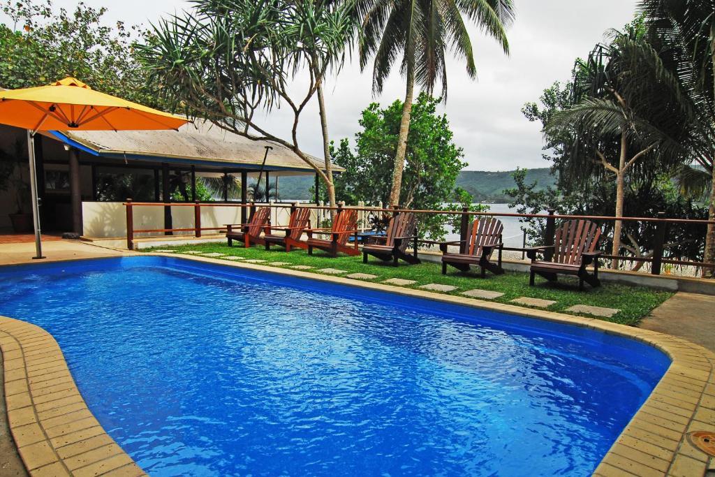 hideaway island resort port vila book your hotel with viamichelin. Black Bedroom Furniture Sets. Home Design Ideas