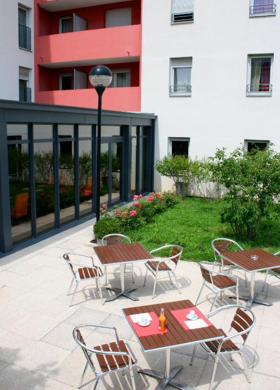 Appart 39 hotel odalys bioparc lyon for Appart hotel lyon sud