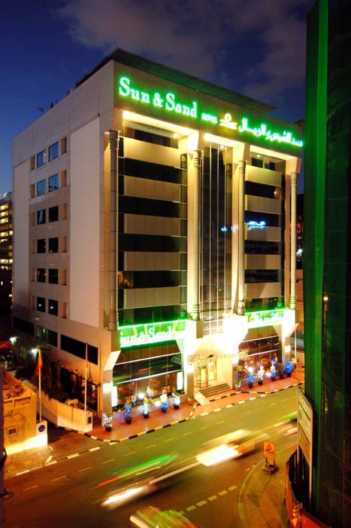 Sun sands hotel dubai book your hotel with viamichelin for Hotel dubai booking