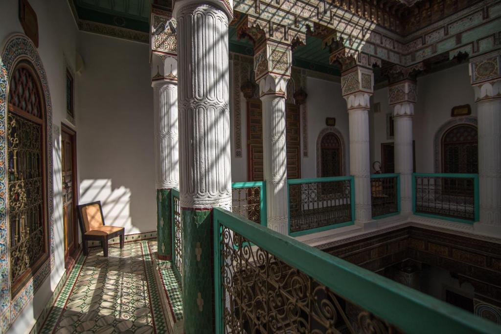 Kleurijke Marokkaanse Inrichting : Riad Palais Sebban - Marrakech ...