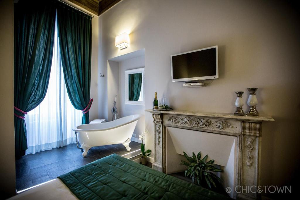 Chic town luxury rooms rom informationen und for Hotel rome chic
