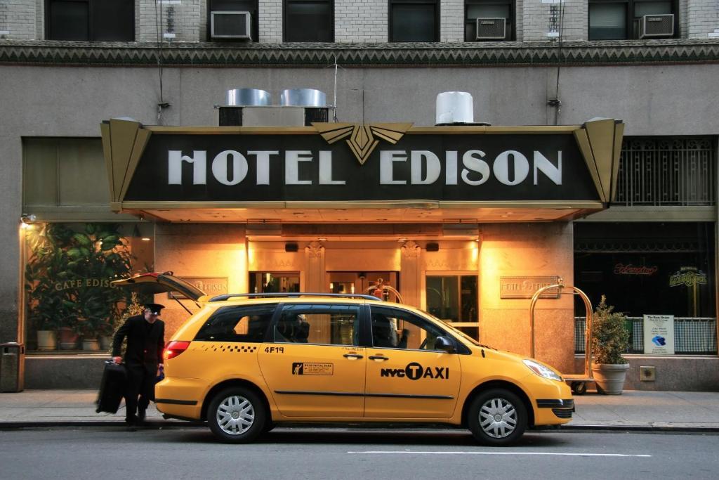 Hotel Edison New York Parking
