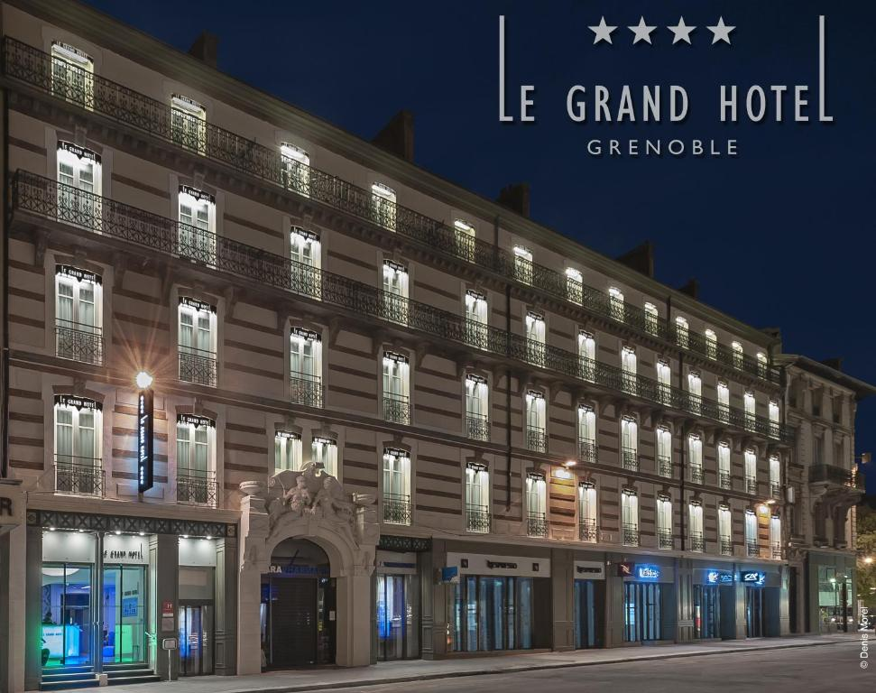 Le grand h tel grenoble grenoble book your hotel with for Grand hotel