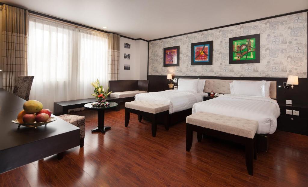 Phòng Deluxe có Giường cỡ King hoặc 2 Giường đơn Nhìn ra Thành phố