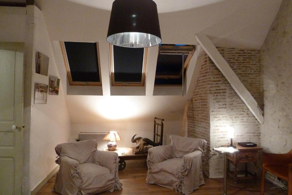 Appartement l 39 atelier du val de loire locations de for Appartement atelier