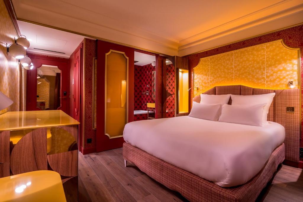 idol hotel clichy prenotazione on line viamichelin. Black Bedroom Furniture Sets. Home Design Ideas