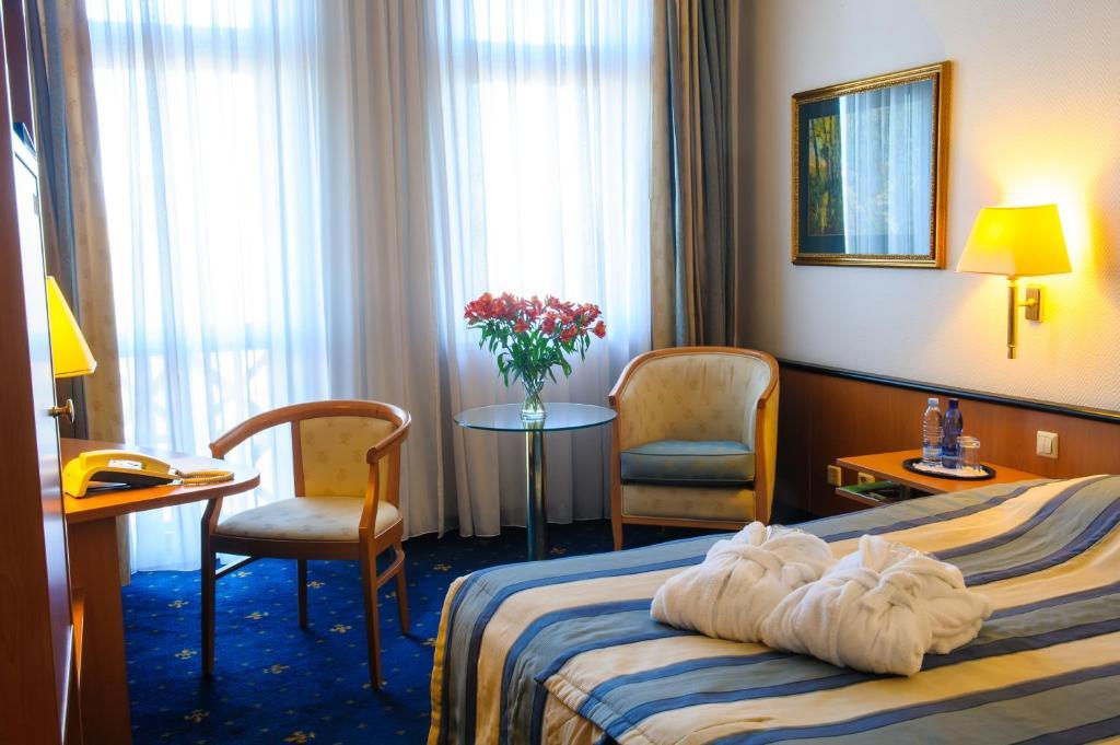 منطقة جلوس في Hotel Roma