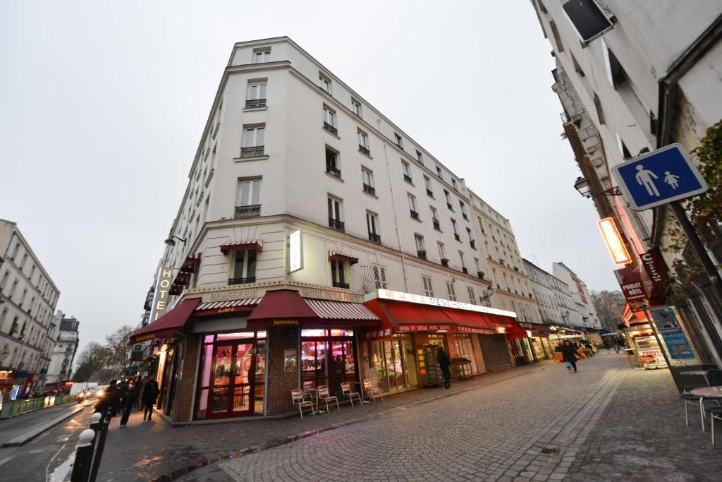 Hotel de la poste paris informationen und buchungen for Michelin hotel france
