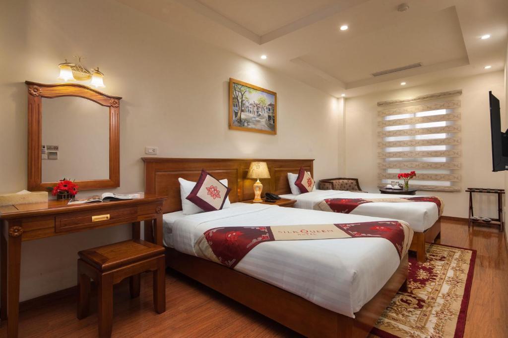 Phòng Deluxe Giường Đôi/2 Giường Đơn có Cửa sổ Trong Phòng