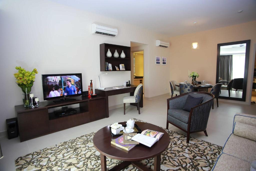 Căn hộ Executive 2 phòng ngủ (cho 3 người lớn)