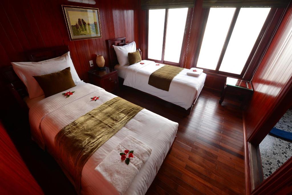 Phòng Giường Đôi/2 Giường Đơn Nhìn ra Đại dương - 2 Ngày 1 Đêm