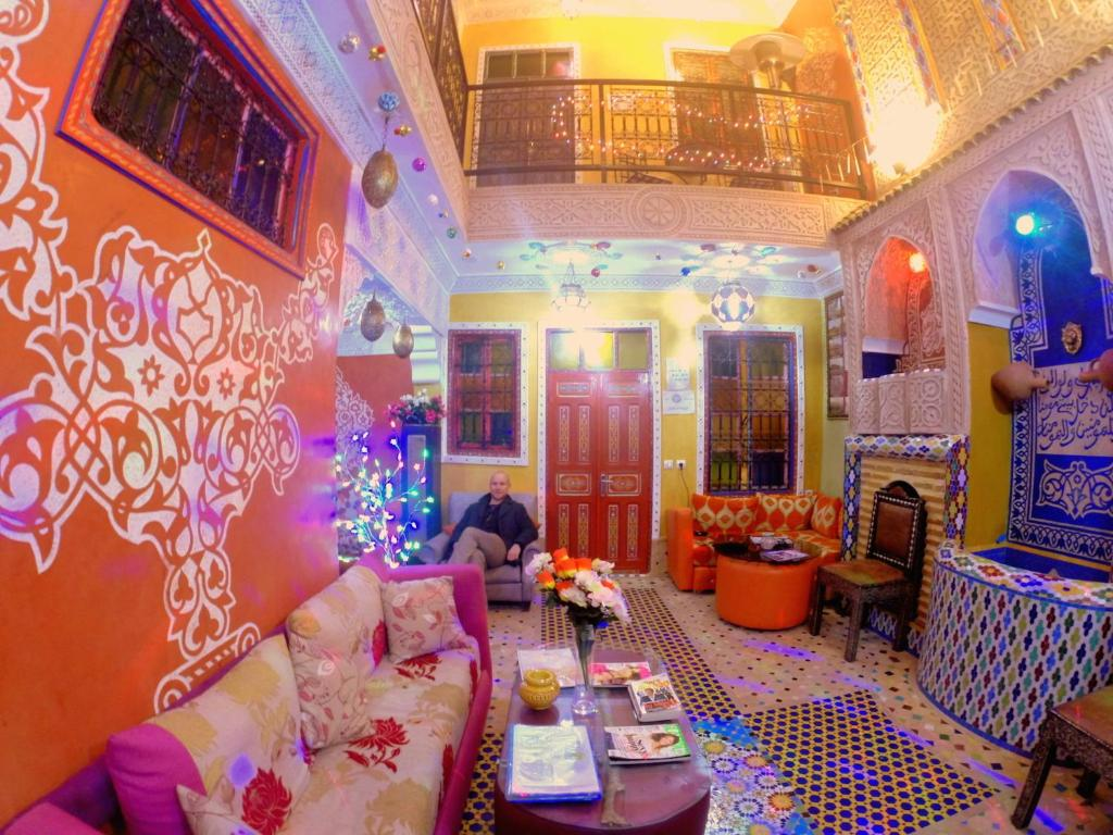 Riad jennah rouge chambres d 39 h tes marrakech for Chambre d hotes marrakech