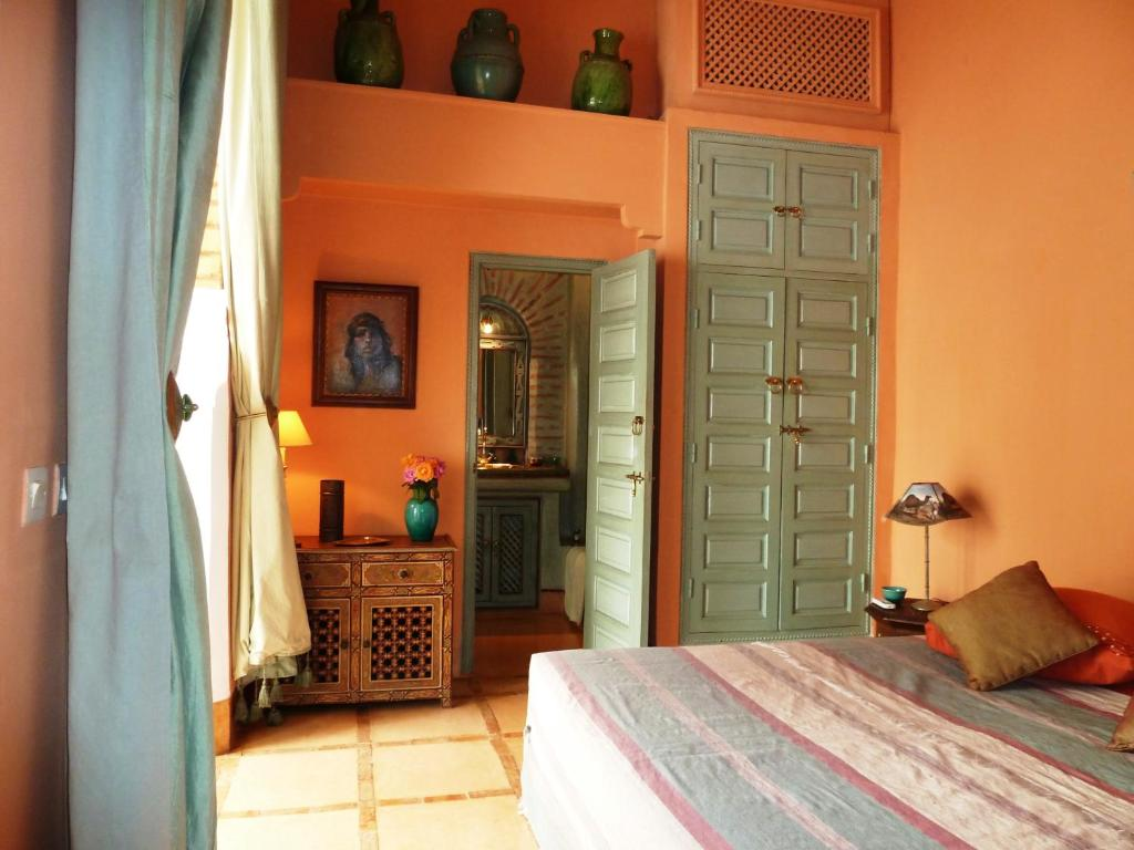Riad herougui chambres d 39 h tes marrakech for Chambre d hote marrakech