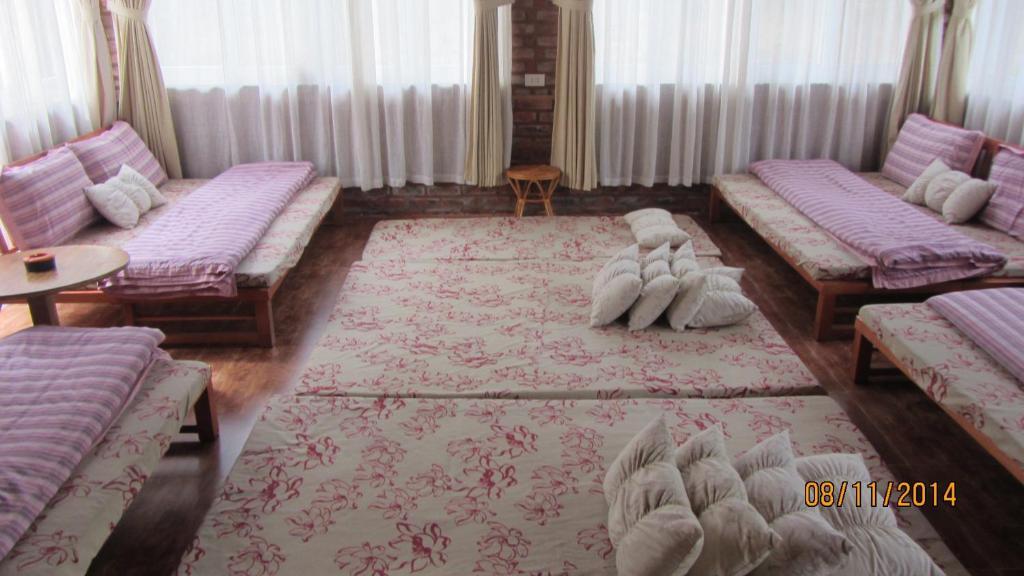 Giường trong Phòng ngủ Tập thể 8 Người