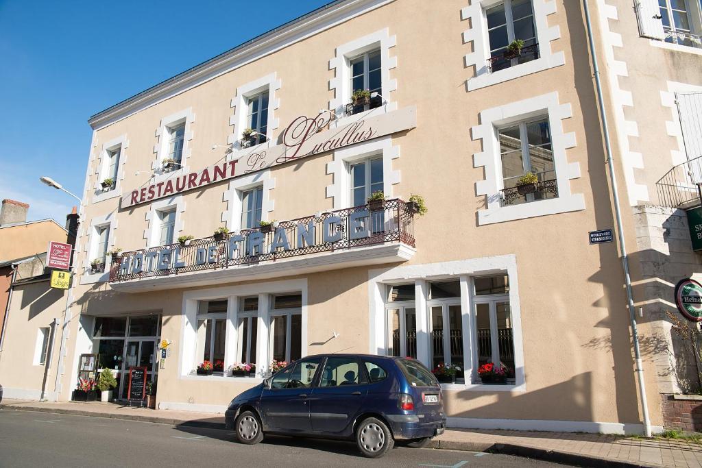 H tel de france montmorillon online booking viamichelin for Hotel de france booking