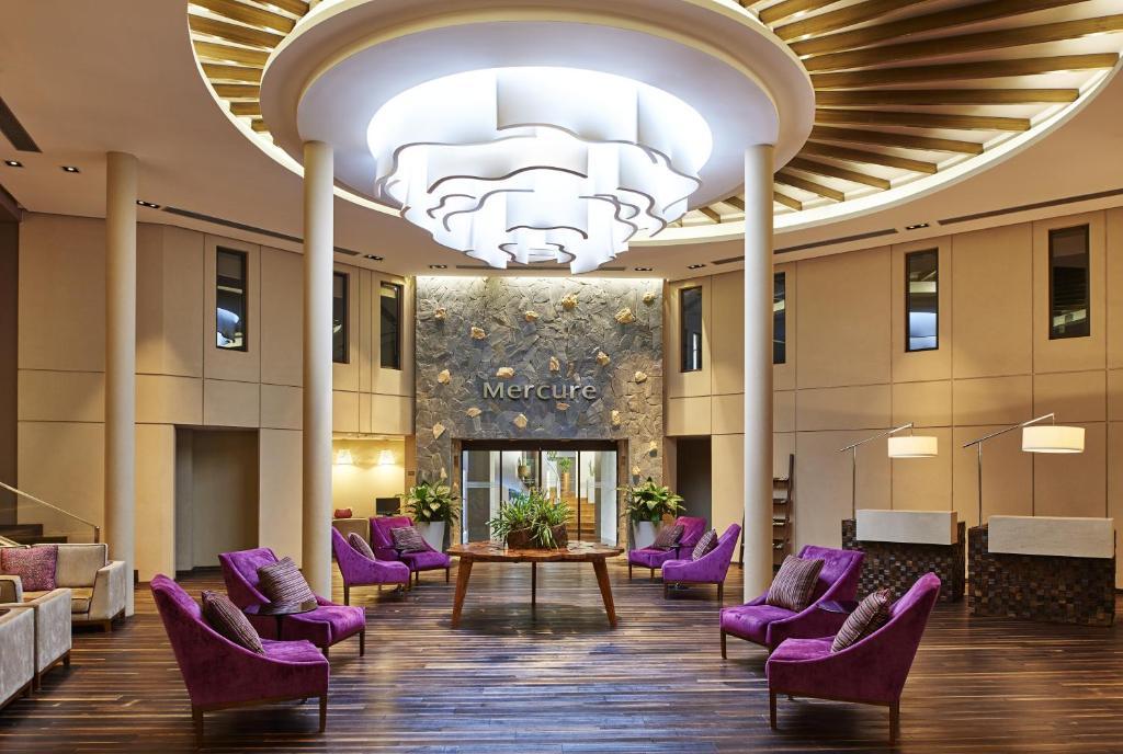 O saguão ou recepção de Mercure Iguazu Hotel Iru