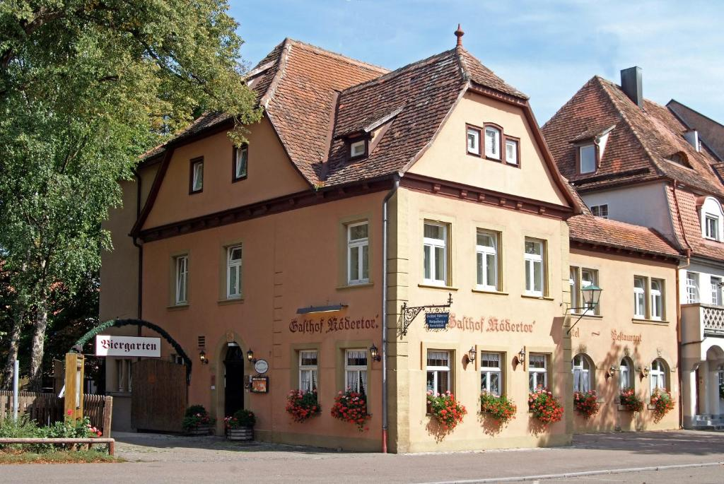 hotel gasthof r dertor rothenburg book your hotel with viamichelin. Black Bedroom Furniture Sets. Home Design Ideas