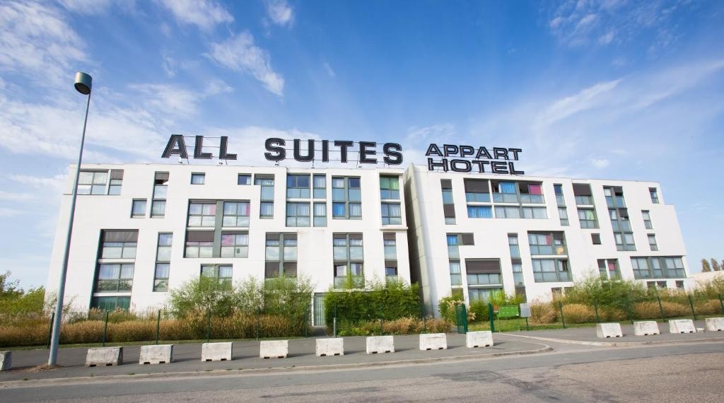 R sidence all suites appart h tel bordeaux lac for Appart hotel suite
