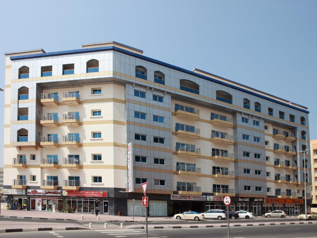 Rose garden hotel apartments barsha dubai book your for Hotel dubai booking