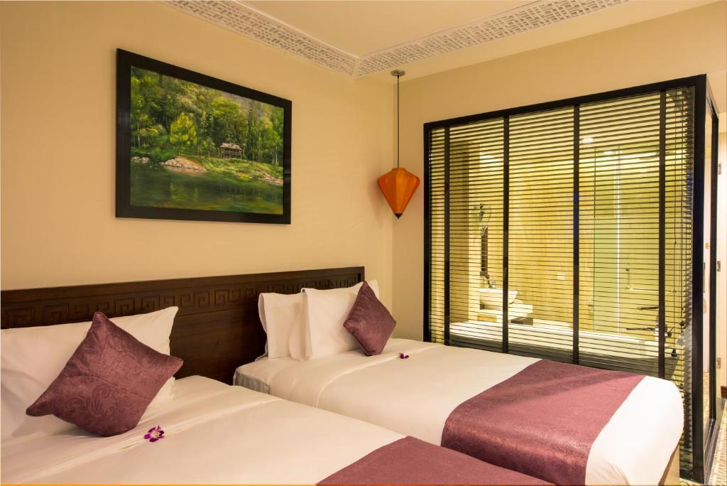 Phòng Deluxe Giường Đôi/2 Giường Đơn - Nhìn ra Mặt nước