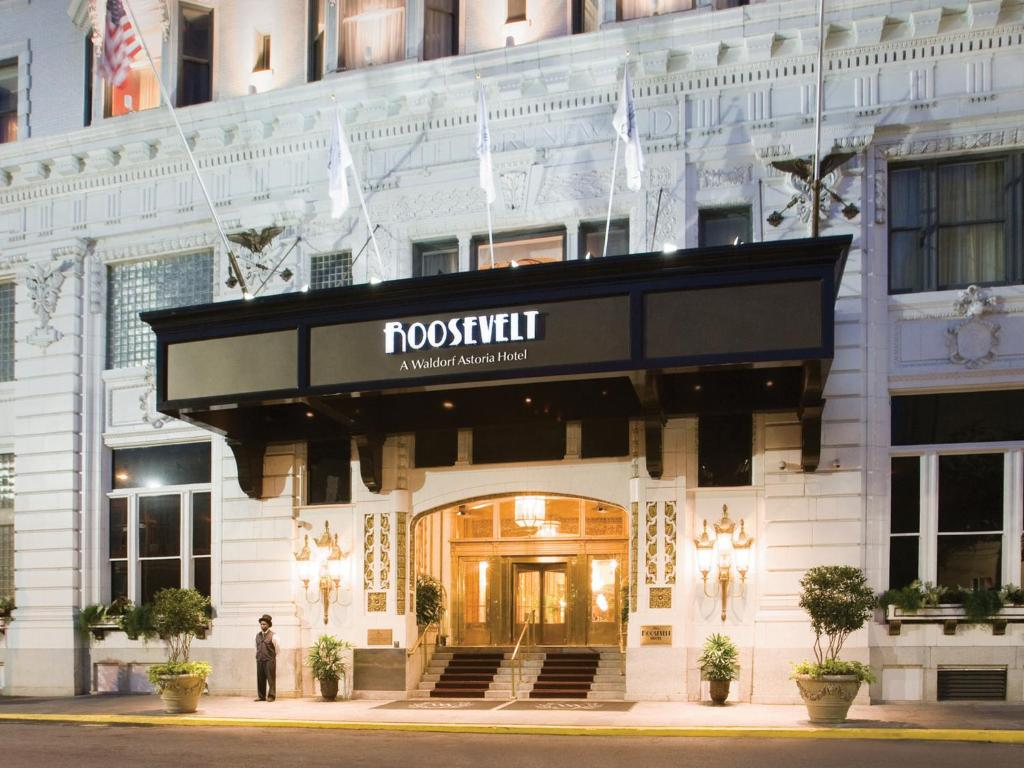 The roosevelt hotel new orleans waldorf astoria hotels for Nuovi piani domestici di new orleans