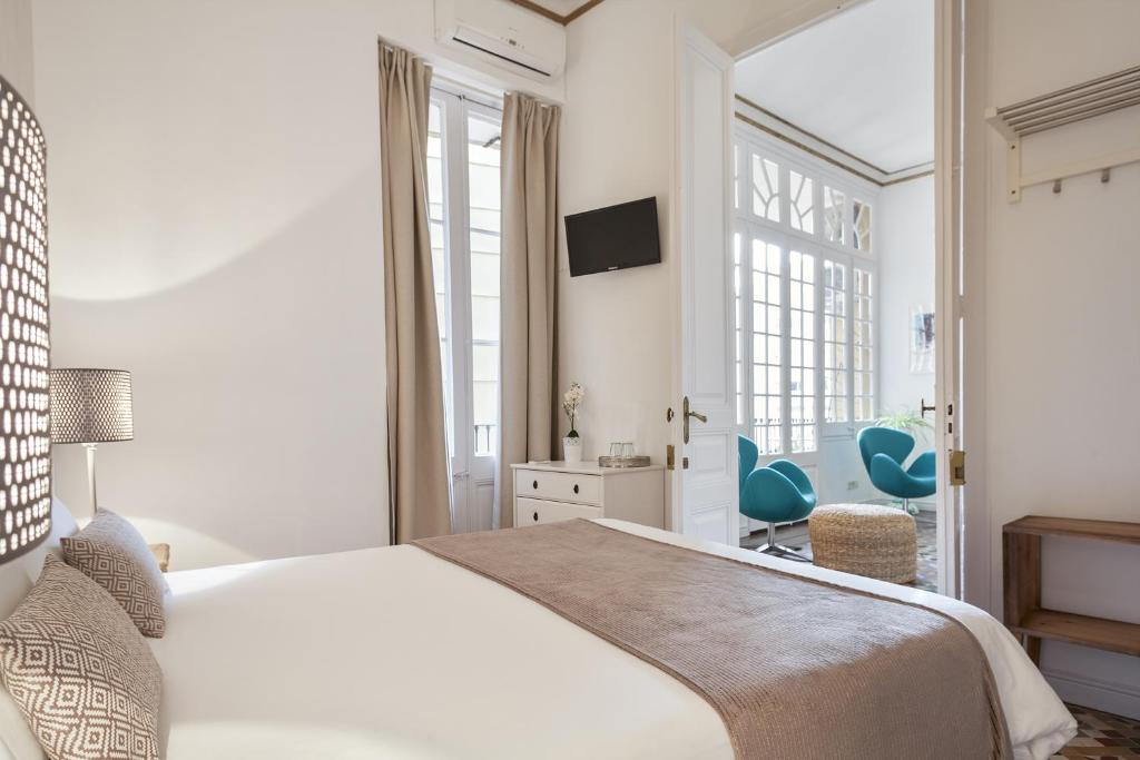 plaza catalunya guest house chambres d 39 h tes barcelone. Black Bedroom Furniture Sets. Home Design Ideas