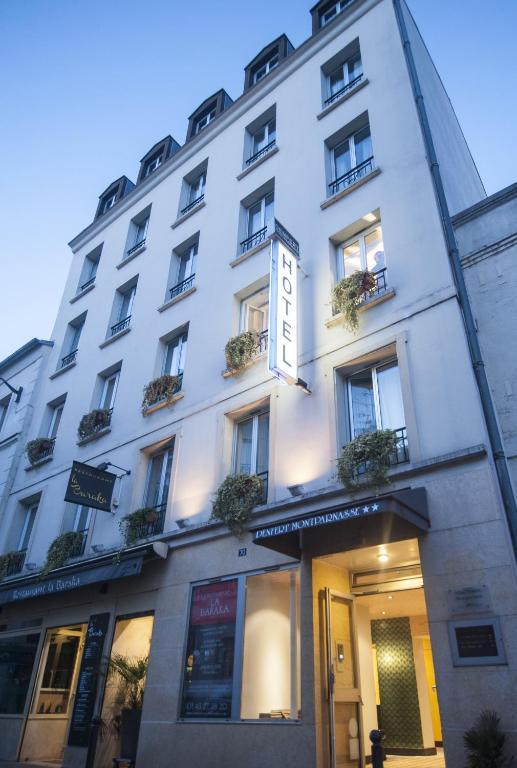 Denfert montparnasse paris book your hotel with for Seven hotel paris booking