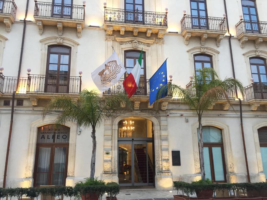 Grande albergo alfeo siracusa prenotazione on line for Alberghi di siracusa