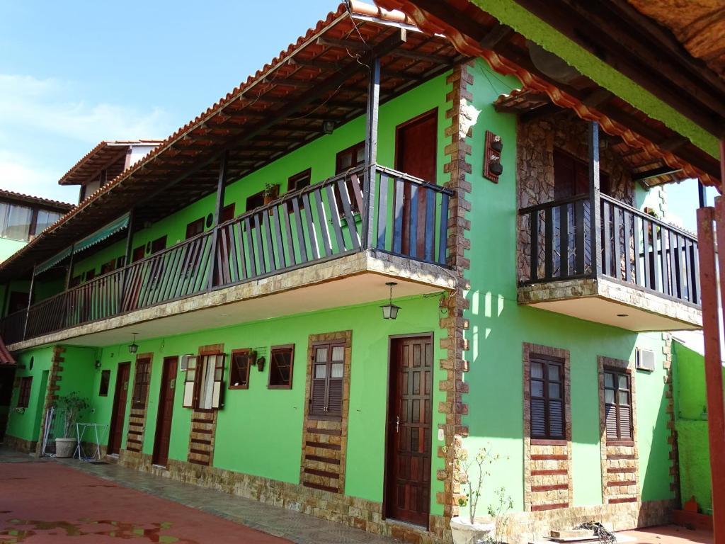 הבניין של בית ההארחה