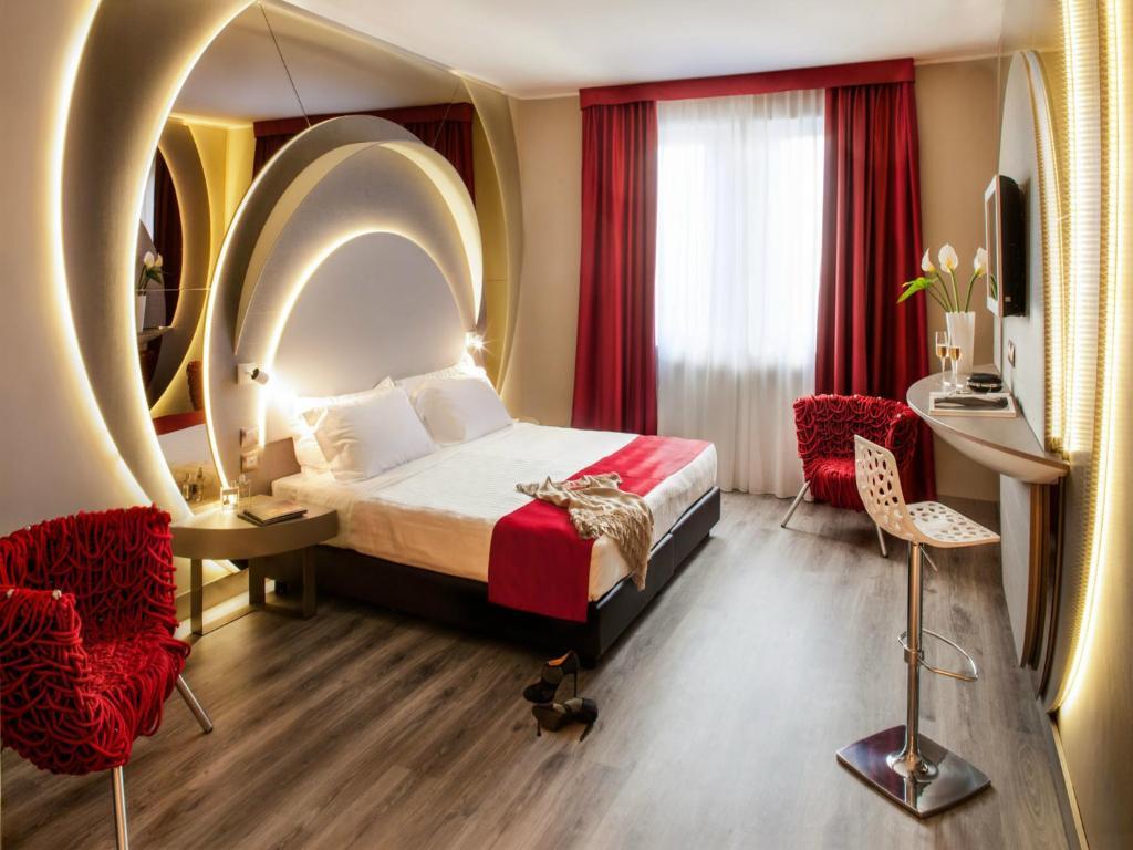 Hotel da vinci milan book your hotel with viamichelin for Hotel design italia