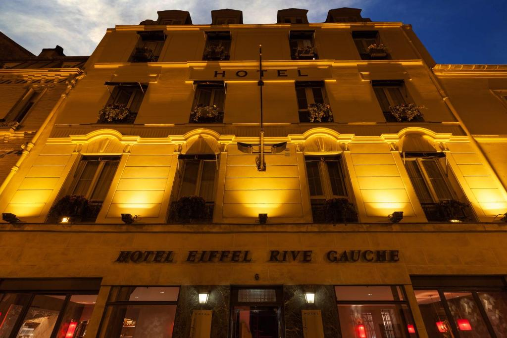 Hotel Eiffel Rive Gauche Reviews